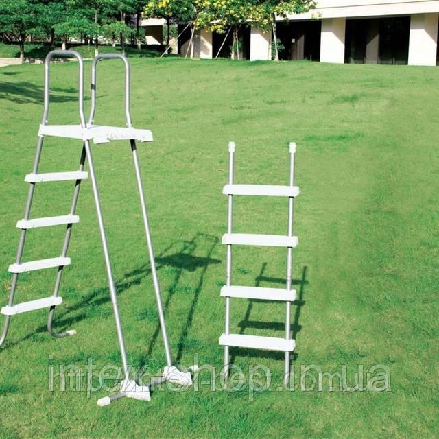 Лестница для бассейна 122-132 см Intex 28074/58971