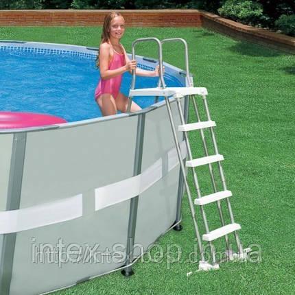 Лестница для бассейна 122-132 см Intex 28074/58971, фото 2
