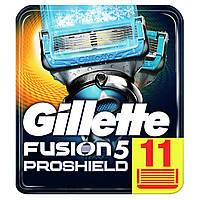 Сменные кассета для бритья Gillette fusion 5 proshield chill 1х11, фото 1