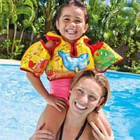 Детский жилет с нарукавниками 58673 Intex надувной