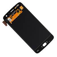 Дисплей модуль Motorola Moto Z2 Play XT1710 в зборі з тачскріном, чорний