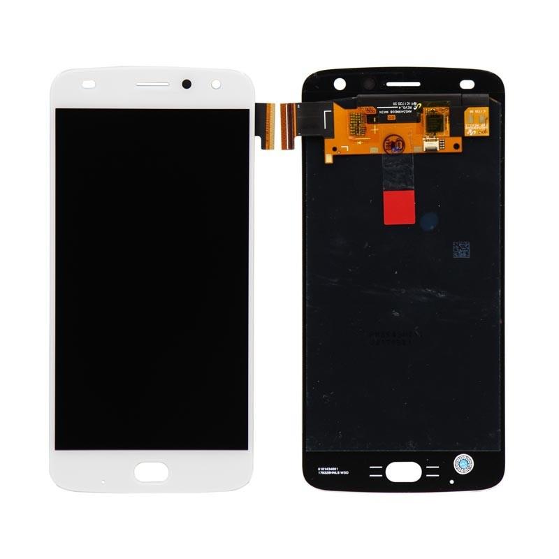 Дисплей модуль Motorola Moto Z2 Play XT1710 в зборі з тачскріном, білий