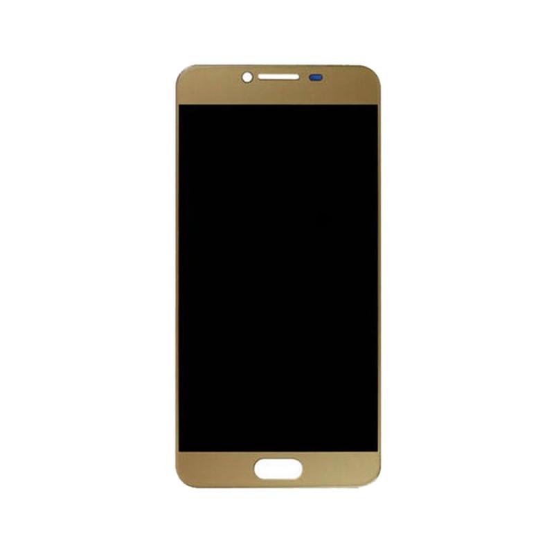 Дисплей модуль Samsung C5000 Galaxy C5 в зборі з тачскріном, золотистий