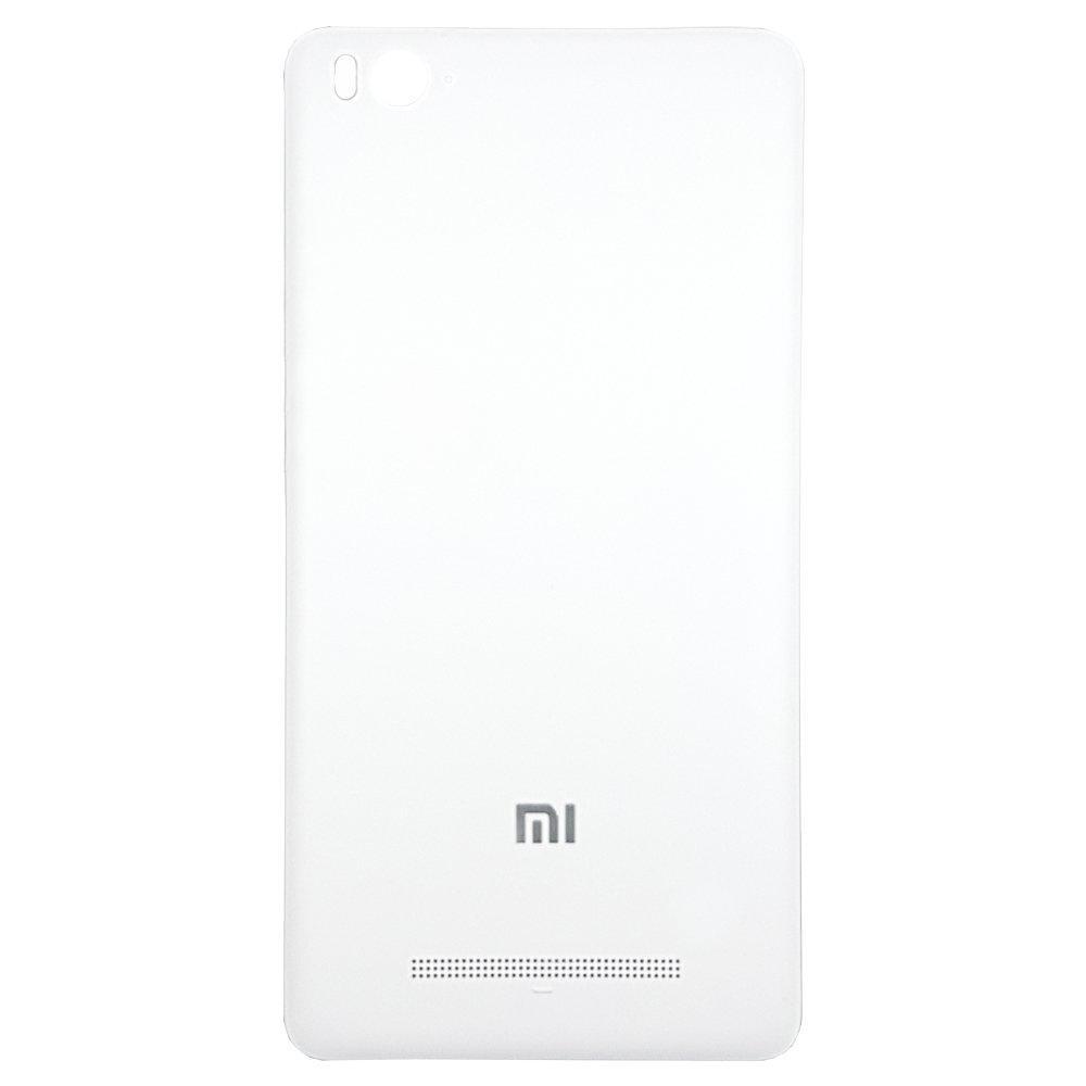 Задняя крышка с боковой кнопкой для смартфона Xiaomi Mi4c белого цвета