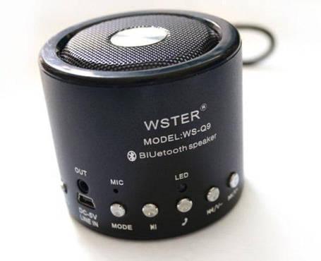 Портативная колонка WS-Q9 ( многофункциональный музыкальный плеер ), фото 2