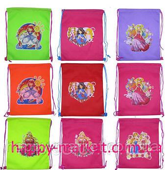 Сумка-Мешок для обуви Холодное сердце, Алиса, Феи 420-1, фото 2