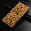 """MEIZU PRO 5 оригинальный кожаный чехол книжка из натуральной кожи магнитный противоударный """"CROCO HEAD"""", фото 7"""