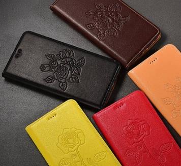 """Nokia Lumia 630 635 оригинальный кожаный чехол книжка из НАТУРАЛЬНОЙ ТЕЛЯЧЬЕЙ КОЖИ противоударный """"VALENTINE"""""""