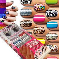 Набор для дизайна ногтей Fab Foils (Фаб Фойлс) Акция!