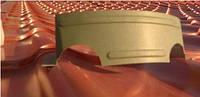Снегозадержатель подкова (коронка) для предотвращения лавинного схода снега с поверхности кровли цвет RAL6005