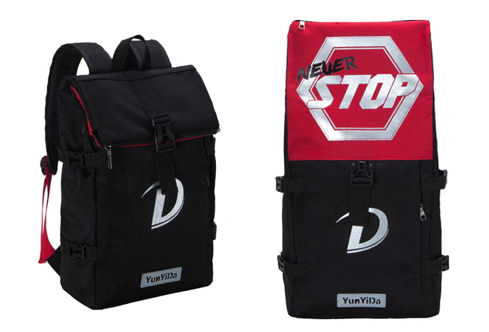 Рюкзак для ноутбука Never Stop red