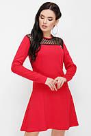 Красивое женское платье с сеткой, фото 1