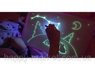 Планшет Дошка для малювання світлом (33*45) +трафарет літери,маркер PC-A3-17, фото 2