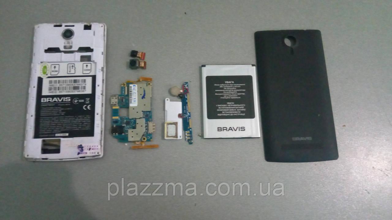 Телефон Bravis Nova под запчасти или восстановление , фото 1