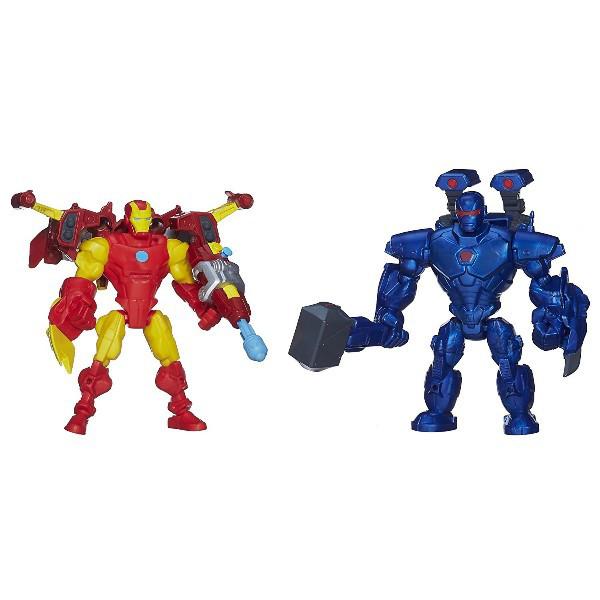 Marvel Super Hero Mashers Железный человек и Железный Делец (Обадайя Стейн) Iron Man vs. Iron Monger Mash Pack