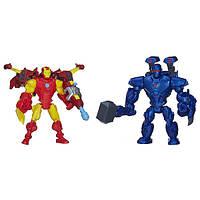 Marvel Super Hero Mashers Железный человек и Железный Делец (Обадайя Стейн) Iron Man vs. Iron Monger Mash Pack, фото 1