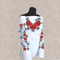 Женская сорочка бисером (нитками) ВМ-СЖ-140. Заготовка под вышивку.