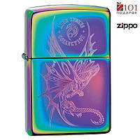 Зажигалка Зиппо - Zippo Anne Stokes' Dragon гравировка покрытие Spectrum