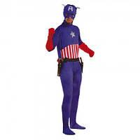 Маскарадный костюм Капитан Америка размер 56