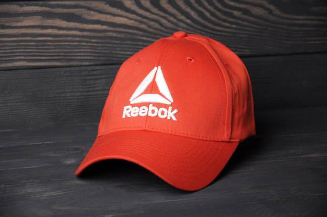 Кепка бейсболка Reebok красная, фото 2