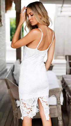 Модный летний сарафан с кружевом, фото 2