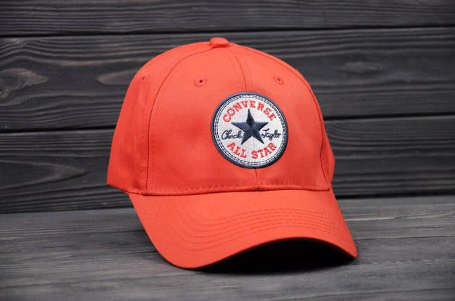 Бейсолка кепка Converse красная, фото 2