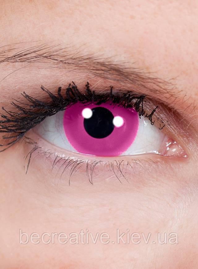 розовые глаза картинка раз