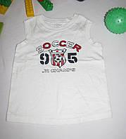 Спортивная майка Wonder Kids Soccer рост 104 см белая 07091, фото 1