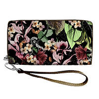 Стильный кошелек в цветочный принт
