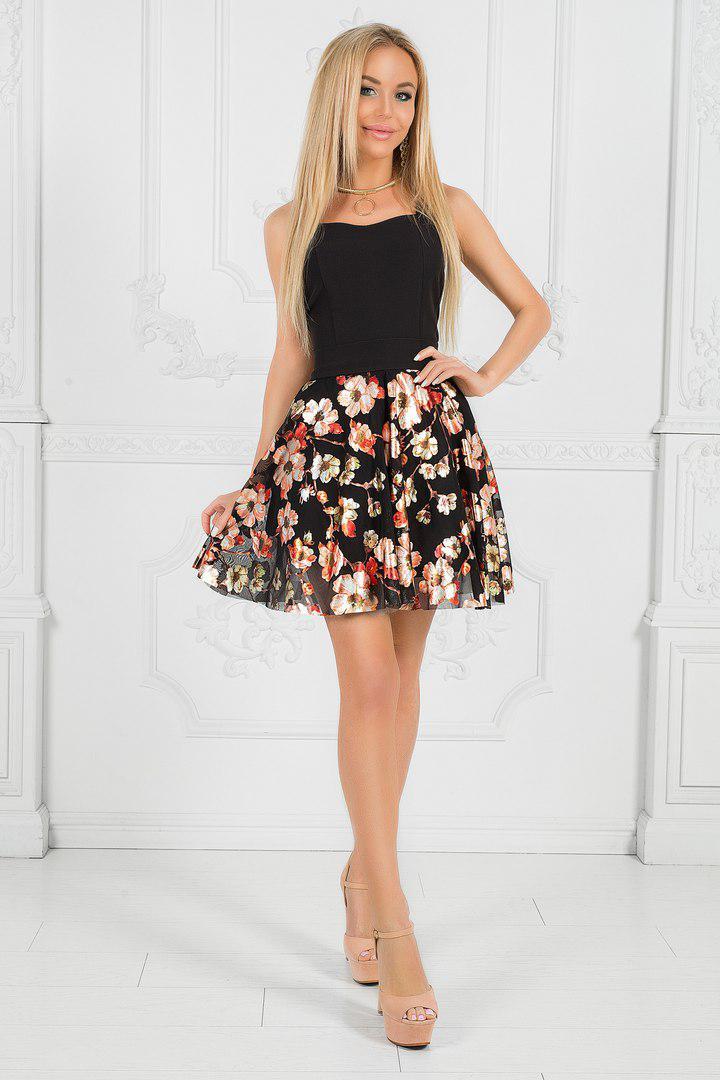 Купить Черное Платье Недорого