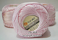 Нитки пряжа для вязания вискозная TULIP Тулип от YarnArt Янрарт № 415