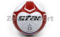 Мяч футбольный №5 PU ламин. Клееный STAR  (№5, 5 сл., клееный)