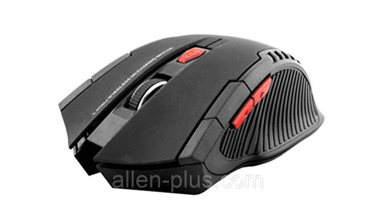 Мышь игровая беспроводная FANTECH W4 RAIGOR (2000 DPI), Black, Wireless