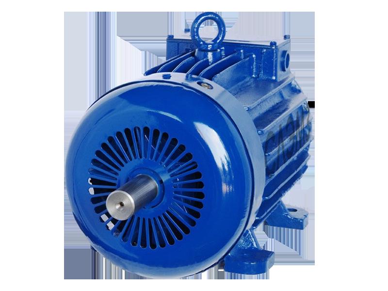 Крановый асинхронный электродвигатель 4МТКН 132 LB6 (МТКF 211 B6, AMTKF 132 L6) с корот. рот. 7.5 кВт 935 об