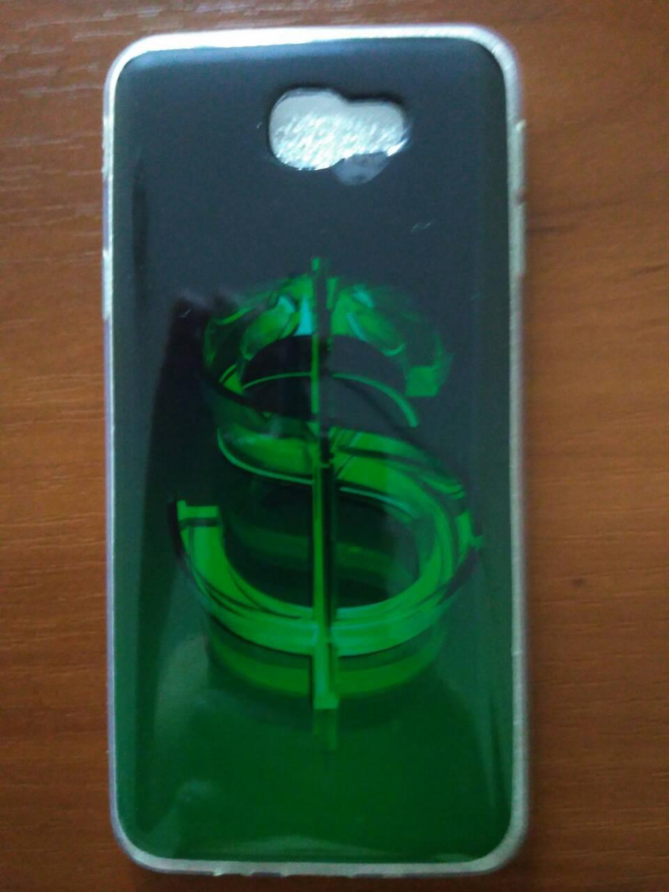 Силиконовый чехол с рисунком  Samsung J5 prime    G570