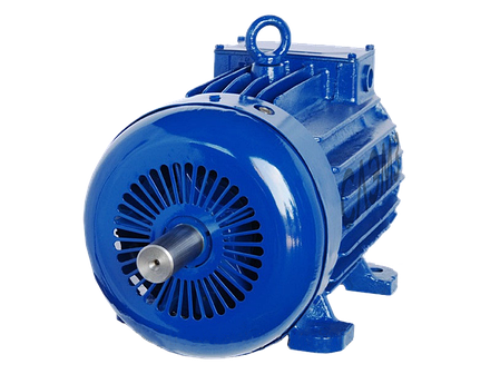 Крановый асинхронный электродвигатель  4МТM 200 LB8 (МТН412-8, МТF 412-8) с фазным ротором 22 кВт 715 об, фото 2