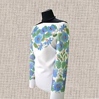 Женская сорочка бисером (нитками) ВМ-СЖ-220. Заготовка под вышивку.
