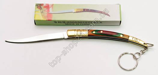 Нож складной с деревянной ручкой