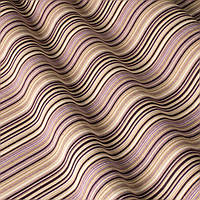 Декоративная ткань в узкую полоску сиренево-фиолетового цвета с тефлоном