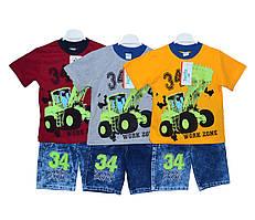 Костюмы детские футболка и шорты для мальчика Insix 0160