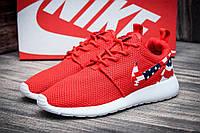Кроссовки женские Nike Rosherun, красные (4077),  [   36 37 38 39  ]