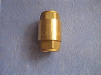 Обратный клапан латунный высокого давления 1/2 латунный шток Karro