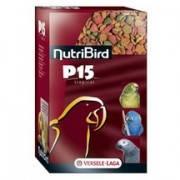 NutriBird P15 Tropical корм с орехами и фруктами для попугаев