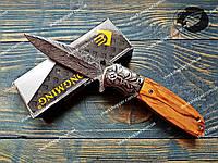 Нож складной Chongming Полуавтомат Стильный и надежный