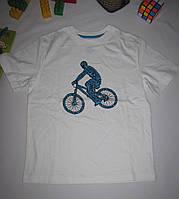Футболка Circo Велосипедист рост 116 см белая 07096, фото 1