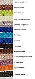 "Тасьма ""шубна"" блакитна бірюза шанель косичка, ширина 1.2 см (1уп-50метров), фото 3"