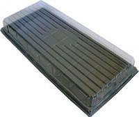 Кришка прозора для касет 18-36-50 вічок 0594.001