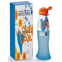 Moschino Cheap and Chic I Love Love EDT 100ml (туалетная вода Москино Чип Энд Чик Ай Лав Лав )