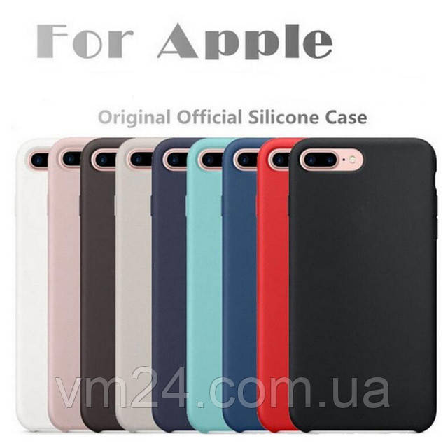 Силіконовий чохол Apple Silicone Case for iPhone 6/6s кольору
