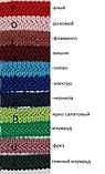 """Цветная тесьма """"косичка"""" ярко салатовая, ширина 1.3см (1 уп-50 метров), фото 2"""